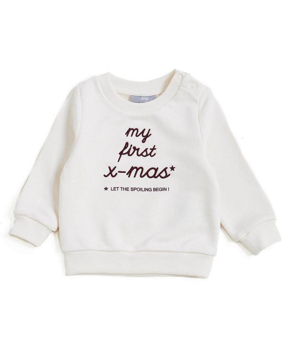 Weißer Sweater - #familystoriesjbc - JBC